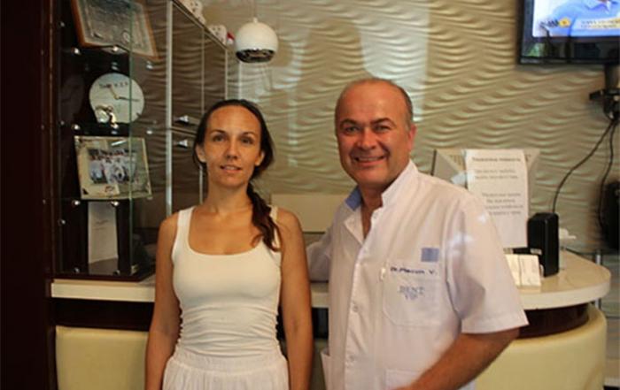 Al 10000 pacient al clinicii stomatologice DentVip Chisinau